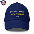 Load image into Gallery viewer, American Patriots Apparel Adjustable Strap Hat Royal Blue / OSFA joshbernsteinuncensored.com TRUTH White & Yellow Text Adjustable Strap Hat (7 Variants)