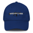 Load image into Gallery viewer, American Patriots Apparel Adjustable Strap Hat Royal Blue / OSFA Molon Labe AR-15 Pew Pew Adjustable Strap Hat (7 Variants)