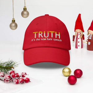 American Patriots Apparel Adjustable Strap Hat TRUTH It's The New Hate Speech Adjustable Strap Hat (7 Variants)