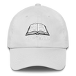 Load image into Gallery viewer, American Patriots Apparel Adjustable Strap Hat White KJV Only! (WHITE TEXT) Psalm 12:6-7 (WHITE TEXT) Adjustable Strap Hat (6 Variants)