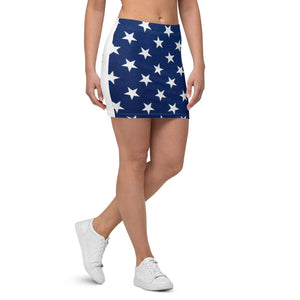 American Patriots Apparel American Flag Star Patriot Mini Skirt