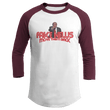 Load image into Gallery viewer, Print Brains Augusta Colorblock Raglan Jersey / White/Maroon / S Trump Fake News MOVE THEM BACK Raglan (16 Variants)