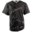 Load image into Gallery viewer, Greater Half Baseball Jersey America #1 Black Camo Baseball Jersey