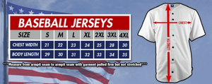 Print Brains Baseball Jersey Team America 2nd Amendment Jersey v2