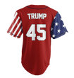 Load image into Gallery viewer, Print Brains Baseball Jersey Trump #45 Statue of Liberty Baseball Jersey (3 Variants)