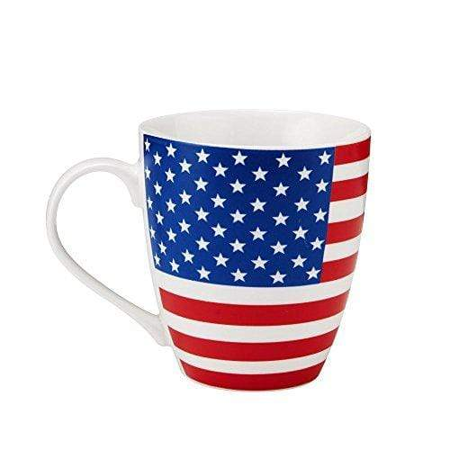 Pfaltzgraff Coffee Mug American Flag / 18 oz. Patriotic Large 18 oz. American Flag God Bless America Coffee Mug