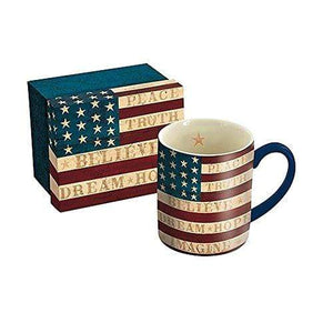 Lang Coffee Mug Default Lang Colonial Flag 14 oz Mug by Warren Kimble