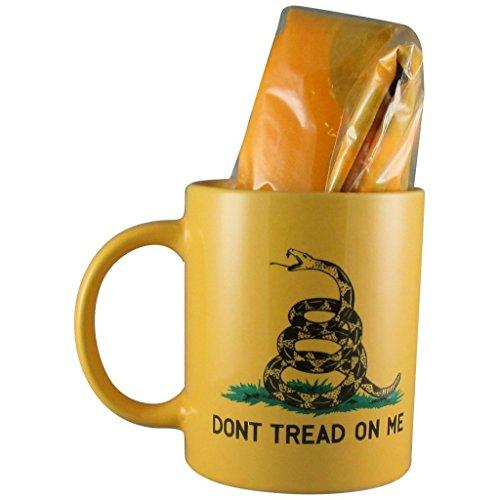 Ruffin Flag Company Coffee Mug Default Yellow Gadsden Don't Tread On Me Coffee Mug