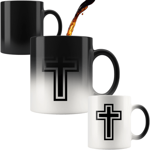 teelaunch Coffee Mug The Cross 11oz Color Changing Coffee Mug (4 Variants)