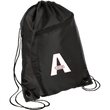 Load image into Gallery viewer, CustomCat Drawstring Bag Black/Black / One Size A'MERICA BG80 Colorblock Cinch Pack (5 Variants)