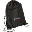 Load image into Gallery viewer, CustomCat Drawstring Bag Black/Black / One Size LIBERTY BG80 Colorblock Cinch Pack (5 Variants)