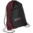 Load image into Gallery viewer, CustomCat Drawstring Bag Black/Maroon / One Size LIBERTY BG80 Colorblock Cinch Pack (5 Variants)