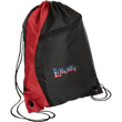 Load image into Gallery viewer, CustomCat Drawstring Bag Black/Red / One Size LIBERTY BG80 Colorblock Cinch Pack (5 Variants)