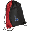 Load image into Gallery viewer, CustomCat Drawstring Bag Black/Red / One Size Statue of Liberty BG80 Colorblock Cinch Pack (5 Variants)