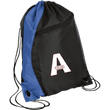 Load image into Gallery viewer, CustomCat Drawstring Bag Black/Royal / One Size A'MERICA BG80 Colorblock Cinch Pack (5 Variants)