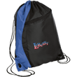 Load image into Gallery viewer, CustomCat Drawstring Bag Black/Royal / One Size LIBERTY BG80 Colorblock Cinch Pack (5 Variants)