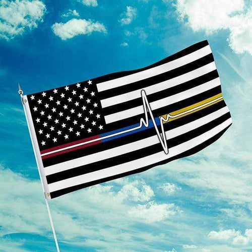 Printed Kicks Flag 3 X 5 Thank You First Responder Flag