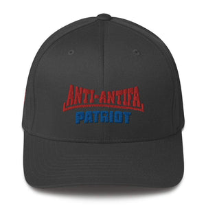 American Patriots Apparel Flexfit Hat Dark Grey / S/M Red Anti-Antifa Royal Patriot Transparent Star Flexfit Hat (7 Variants)