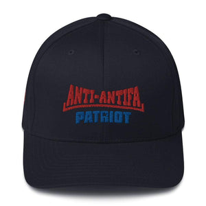 American Patriots Apparel Flexfit Hat Dark Navy / S/M Red Anti-Antifa Royal Patriot Transparent Star Flexfit Hat (7 Variants)