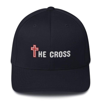 American Patriots Apparel Flexfit Hat Dark Navy / S/M The Cross Flexfit Hat (7 Variants)