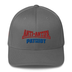 American Patriots Apparel Flexfit Hat Grey / S/M Red Anti-Antifa Royal Patriot Transparent Star Flexfit Hat (7 Variants)