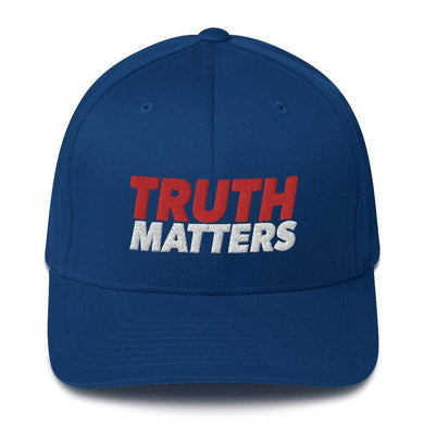 American Patriots Apparel Flexfit Hat Royal Blue / S/M Truth Matters Flexfit Hat (7 Variants)