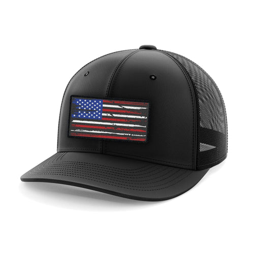 Tactical Pro Supply Flexfit Hat US Flag / Small/Medium American Flag Patch Flexfit Hat (8 Variants)