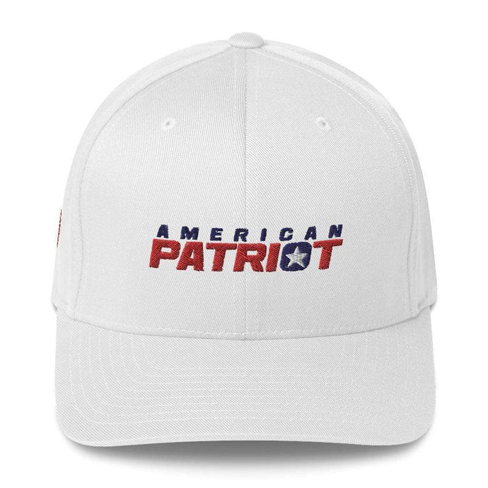 American Patriots Apparel Flexfit Hat White / S/M American Patriots V2 Structured Twill Flexfit Hat (7 Variants)