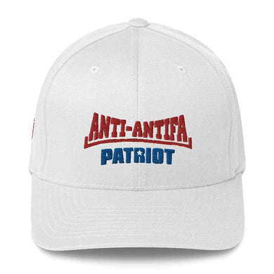 American Patriots Apparel Flexfit Hat White / S/M Red Anti-Antifa Royal Patriot Transparent Star Flexfit Hat (7 Variants)
