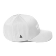 Load image into Gallery viewer, American Patriots Apparel Flexfit Hat White Text MAKE AMERICA SAVED AGAIN 1 Cor. 15:1-4 Flexfit Structured Twill Cap (7 Variants)