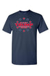 Load image into Gallery viewer, American Patriots Apparel FRONT / Navy / MEDIUM Unisex Trump Stars & Stripes Short Sleeve Shirt