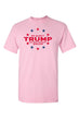 Load image into Gallery viewer, American Patriots Apparel FRONT / Pink / 3XL Unisex Trump Stars & Stripes Short Sleeve Shirt