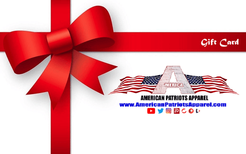 American Patriots Apparel Gift Card American Patriots Apparel Gift Card