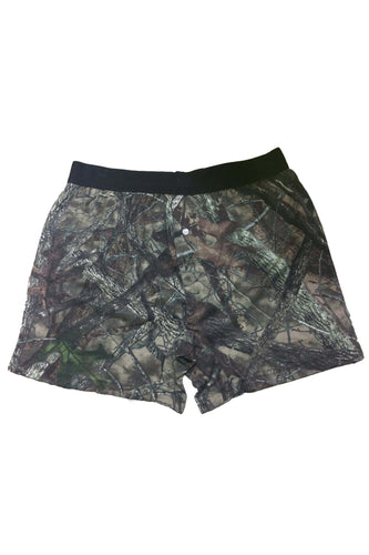 American Patriots Apparel GREEN / XL Camo Hunting Boxer Shorts Camouflage Authentic True Timber Underwear Briefs