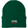 Load image into Gallery viewer, CustomCat Hats Athletic Green / One Size 1776 Patriot CP90 Knit Cap (16 Variants)
