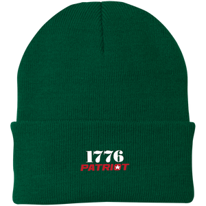 CustomCat Hats Athletic Green / One Size 1776 Patriot CP90 Knit Cap (16 Variants)