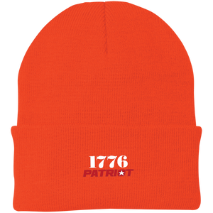 CustomCat Hats Athletic Orange / One Size 1776 Patriot CP90 Knit Cap (16 Variants)