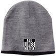 Load image into Gallery viewer, CustomCat Hats Athletic Oxford/Black / One Size All Lives Matter CP91 100% Acrylic Beanie (5 Variants)