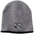 Load image into Gallery viewer, CustomCat Hats Athletic Oxford/Black / One Size All Lives Matter Not Just Black ones CP91 100% Acrylic Beanie (5 Variants)