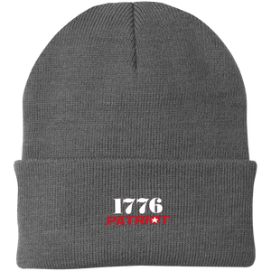 CustomCat Hats Athletic Oxford / One Size 1776 Patriot CP90 Knit Cap (16 Variants)