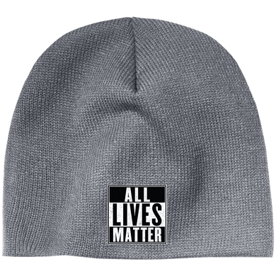 CustomCat Hats Athletic Oxford / One Size All Lives Matter CP91 100% Acrylic Beanie (5 Variants)