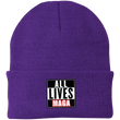 Load image into Gallery viewer, CustomCat Hats Athletic Purple / One Size All Lives MAGA CP90 Knit Cap (16 Variants)