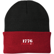 Load image into Gallery viewer, CustomCat Hats Athletic Red/Black / One Size 1776 Patriot CP90 Knit Cap (16 Variants)