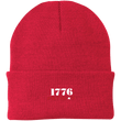 Load image into Gallery viewer, CustomCat Hats Athletic Red / One Size 1776 Patriot CP90 Knit Cap (16 Variants)