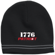 Load image into Gallery viewer, CustomCat Hats Black/Iron Grey / One Size 1776 Patriot Star Beanie (3 Variants)