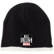 Load image into Gallery viewer, CustomCat Hats Black/Natural / One Size All Lives MAGA CP91 100% Acrylic Beanie (5 Variants)