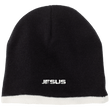 Load image into Gallery viewer, CustomCat Hats Black/Natural / One Size JESUS CP91 100% Acrylic Beanie (5 Variants)