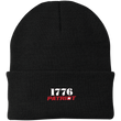 Load image into Gallery viewer, CustomCat Hats Black / One Size 1776 Patriot CP90 Knit Cap (16 Variants)