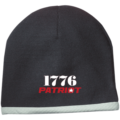 CustomCat Hats Black / One Size 1776 Patriot STC15 Performance Knit Cap