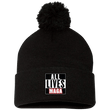 Load image into Gallery viewer, CustomCat Hats Black / One Size All Lives MAGA SP15 Pom Pom Knit Cap (12 Variants)